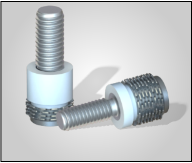 Keep-Nut Self-Anchoring Insert for Stone and Composites